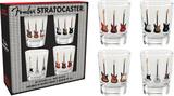 Fender Stratocaster Shot Glass Set