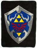 Nintendo Zelda Shield Fleece Blanket