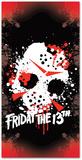 Friday the 13th - Jason Mask Beach Towel