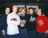N'sync Group Picture in Fubu Shirt N'Sync N'Sync Justin Timberlake In Time Justin Timberlake - Staples Center
