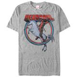 Deadpool- Unicorn Charge Maximum Effort!!! (Deep Red) Deadpool Deadpool - I Make This Look Good Deadpool deadpool