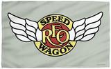 REO Speedwagon - Speedwagon Logo Beach Towel