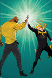 Marvel Knights Cover Art Featuring: Luke Cage, Iron Fist The Immortal Iron Fist: Marvel Premiere No.15 Cover: Iron Fist