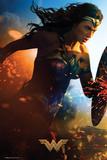 Wonder Woman- Run Batman Origins - Arkham Bats Wolverine One Sheet Movie Poster Suicide Squad- Harley Quinn Neon Glow dc comics