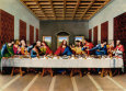 Last Supper is one of the Frescos painted by Ben Long an artist from ${city.City}