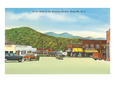 business district, Black Mountain North Carolina