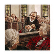 Painting of Patrick Henry Speaking to Virginia Delegates in 1775