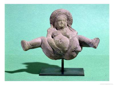 Statuette of a Woman Giving Birth, Given to Pregnant Women for a Successful ...