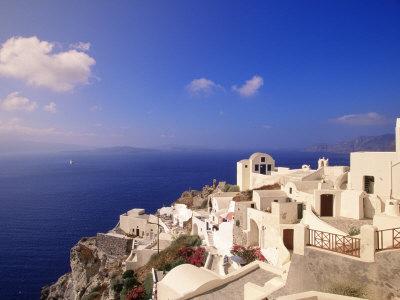 Santorini Greece Photographic Print zoom view in room
