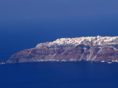 Landscape Santorini Greece Photographic Print zoom view in room
