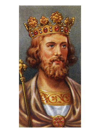 KING EDWARD II PORTRAIT (REIGNED 1307 - 1327) Giclee Print|Item #: 871141529A