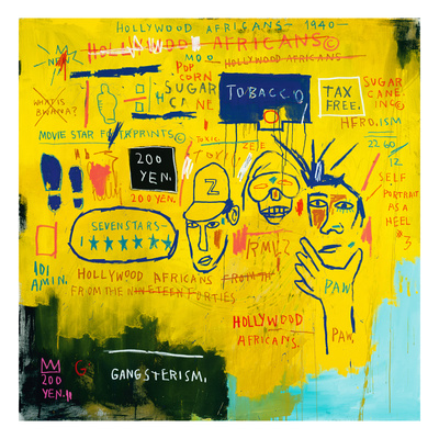 Basquiat Hollywood Africans Hollywood Africans  1983