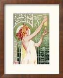 Livemont Absinthe Robette Archival Reproduction encadrée