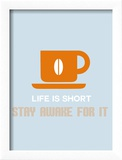 Coffee Poster Orange