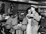 Couple Dancing at Rosie&#39;s Cafe