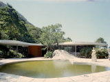Swimming Pool and Private Residence of Architect Oscar Niemeyer