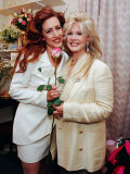 Joely Fisher  Connie Stevens