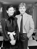 Ballerina Dame Margot Fonteyn with Dancer Choreographer Mikhail Baryshnikov