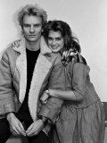 Actress Brooke Shields and Musician Sting