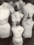Dressmaker's Forms in Wardrobe Department at 20th Century Fox