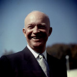President Eisenhower at White House