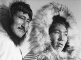 Eskimo Portraits from Artic Trip- Coppermine August 1937