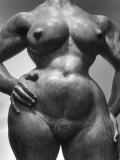 "Undated Torso of Gaston Lachaise Sculpture ""Standing Woman"""