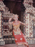 Balinese Girls Dance in Honor of Khrushchev Visit to Denpassar  Indonesia