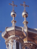 Close-Up Exterior Views of St Basil&#39;s Cathedral Towers