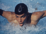 Swimmer  Mark Spitz  Santa Clara  California