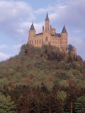 Hohenzollein Castle Near Hechingen  Germany  on Mount Zollern