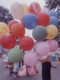 Balloons Sold by Man to People Watching Events  Kosygin's Second Visit to Glassboro  New Jersey