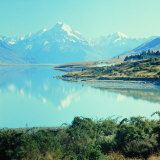 New Zealandsnow-Capped Mountain in New Zealand