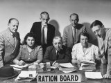 Members of the Bristol Ration Board Who are All Volunteers Doing a Tough Job without Pay