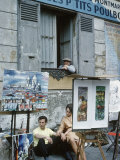 The Parisians: Artists on Place du Terte Near Sacre Coeur Montmartre