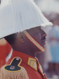 Ethiopian Honor Guard During British Queen Elizabeth II&#39;s Visit