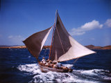 Sailboat in the Carribean