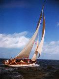 "Yacht ""Starlight"" in Full Sail in Caribbean"