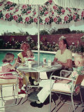Los Angeles County Essay: Family Lunch at the Pool Side