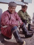 Local Men in Outer Mongolia