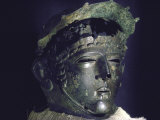 Gallic Helmet Found at D'Amfreville  Eure  Site of Alesia Battlefield Where Caesar Defeated Gauls