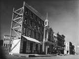 Street Set Used in Production of Movie Westerns on Paramount Studios Ranch
