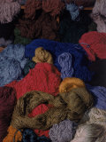 Bundles of Yarn by Textile Designer Dorothy Liebes