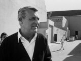 Actor Cary Grant on Lot at Universal Studio