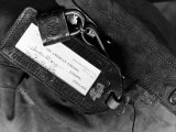 Label of a Diplomatic Pouch from State Dept Building  Sent to London on the SS Queen Mary