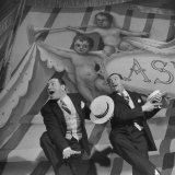 Actors Jack Diamond and Harry Clark Performing in Scene from Kiss Me  Kate