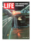 Our Deadliest Highways  Ambulance Speeding Car Accident Victim to Hospital  May 30  1969