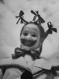 Little Girl Dressed as a Clown