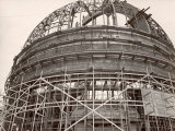 Dome under Construction to House 200-Inch Telescope at Observatory on Mt Palomar