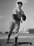 New York Yankee Joe DiMaggio in the Field